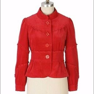 ANTHROPOLOGIE HUFF AND PUFF JACKET BY ELEVENSES
